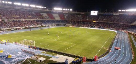 Junior y Nacional Estadio metropolitano de Barranquilla