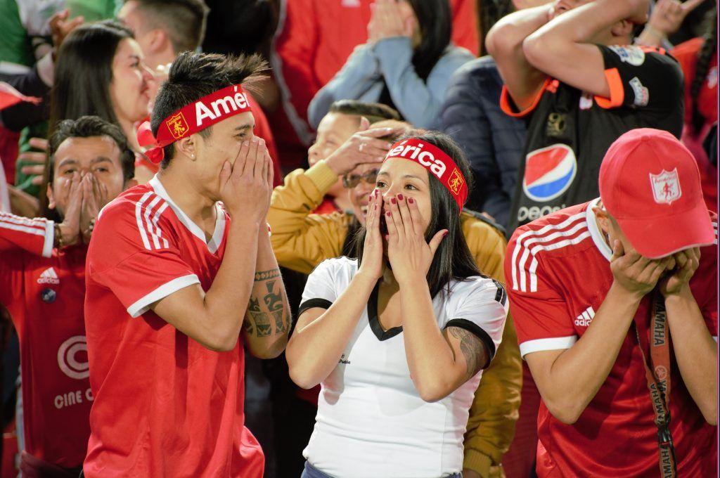 22 Hichas América en Bogotá Fox Sports