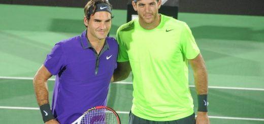 Federer y Del Potro