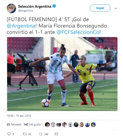 Tweet Argentina