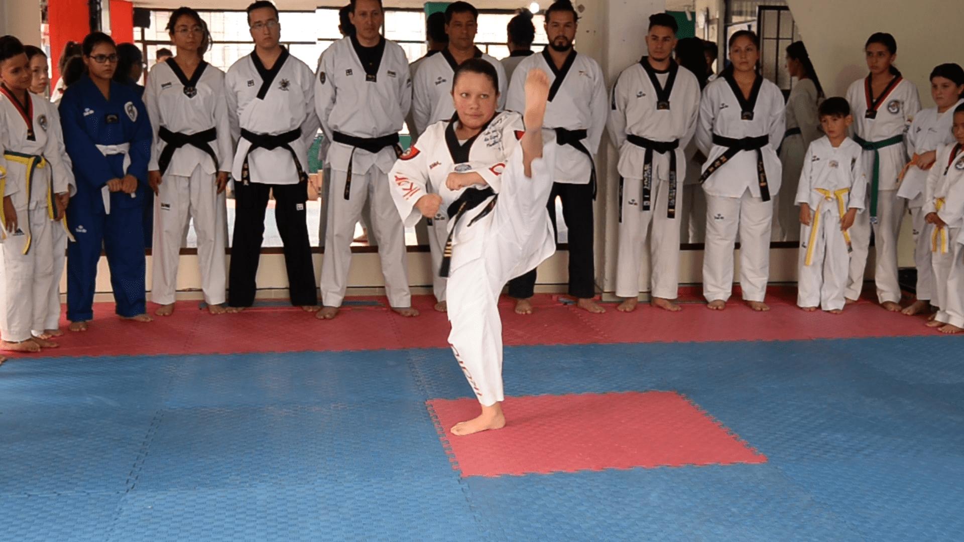 Jhormary Rojas parataekwondo