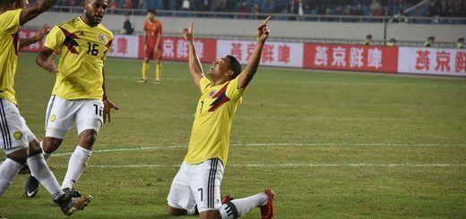 Selección Colombia amistososos