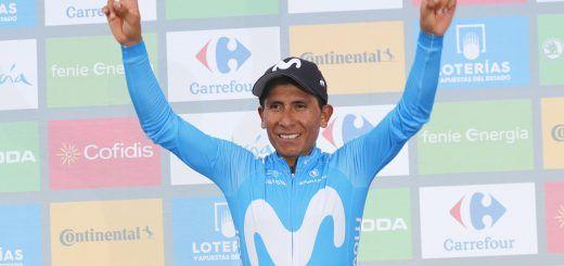 Nairo Quintana lider
