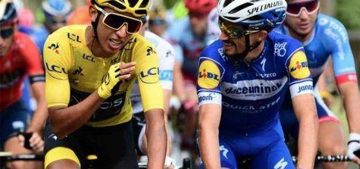 Egan Bernal quinto en el ranking de la UCI