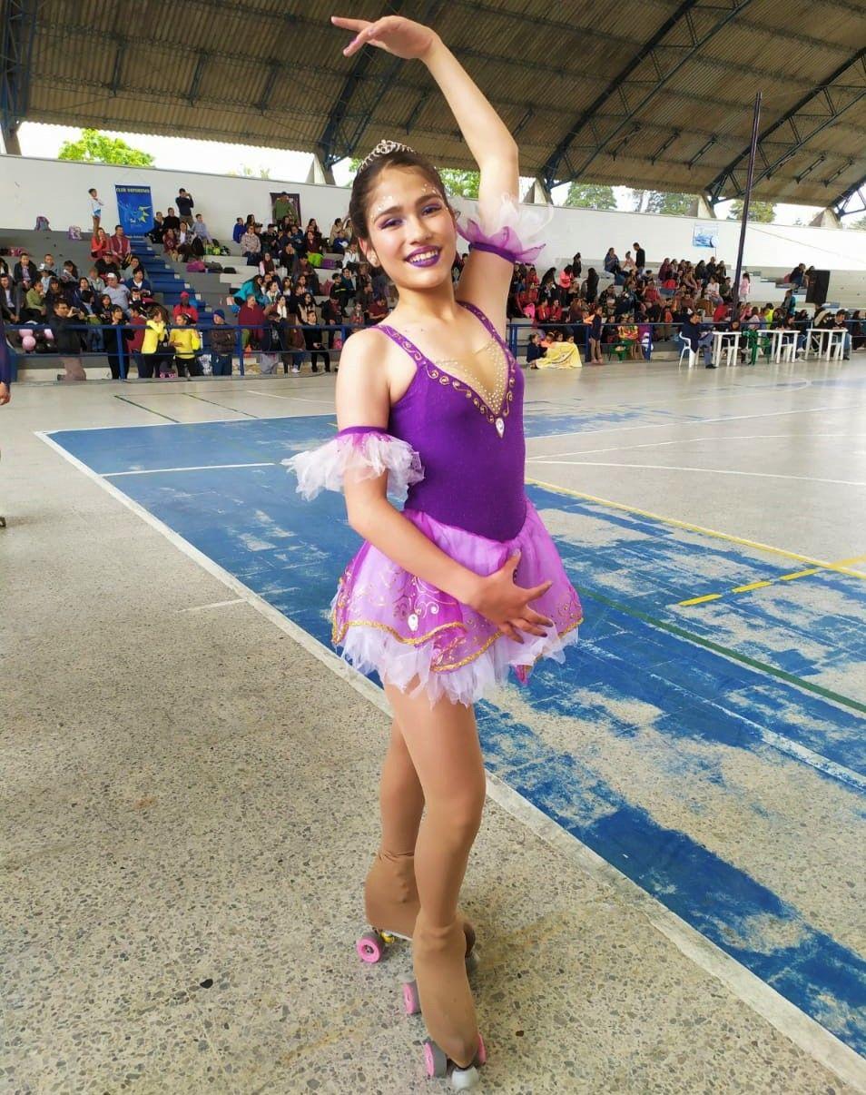 Paula Osorio patinaje artistico