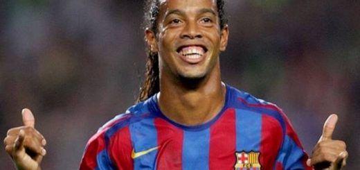 Ronaldinho se despidió en Bogotá con su magia