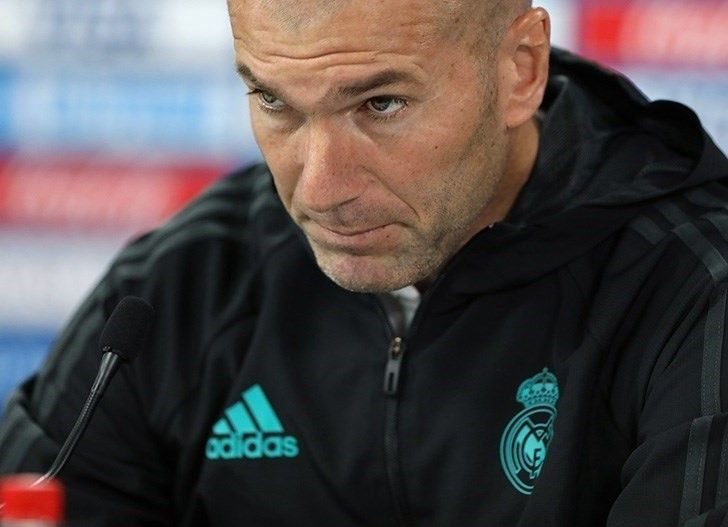 salida de Zinedine Zidane