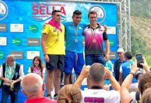 Alejandro Rodríguez Ramírez podium canotaje