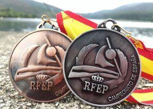 Medallas de canotaje España