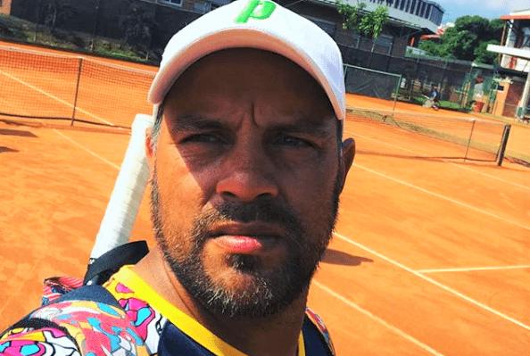 Edgar Pinzón, entrenador tenis adaptado
