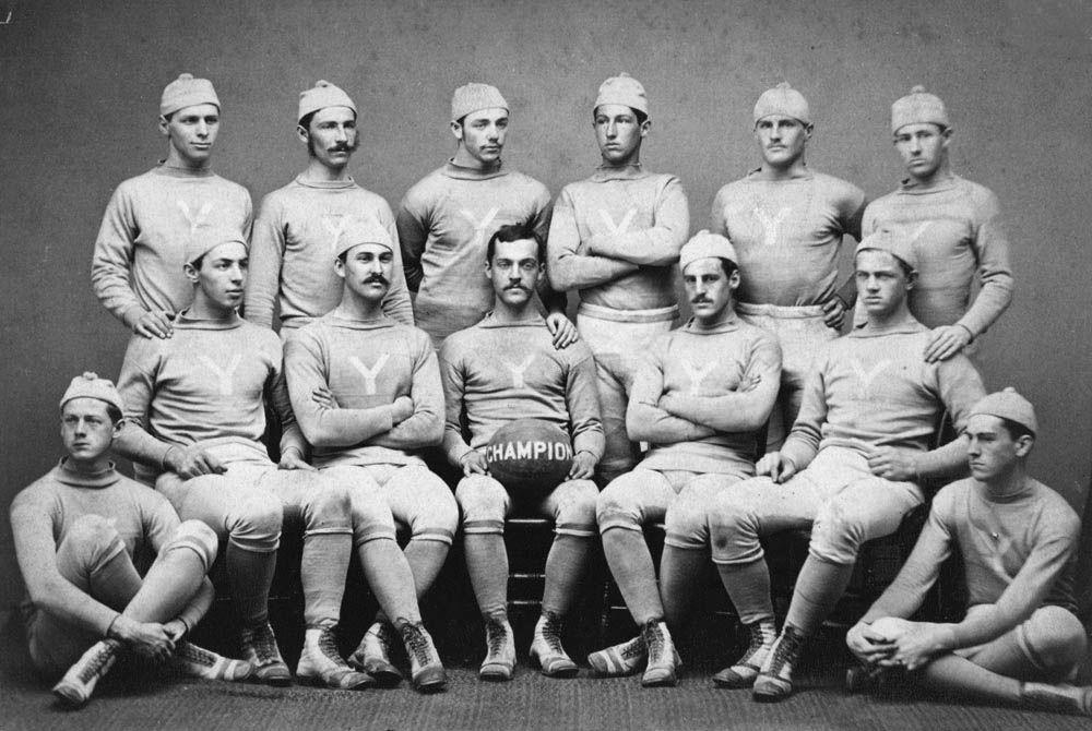 Fútbol americano Escuadra de Yale 1876