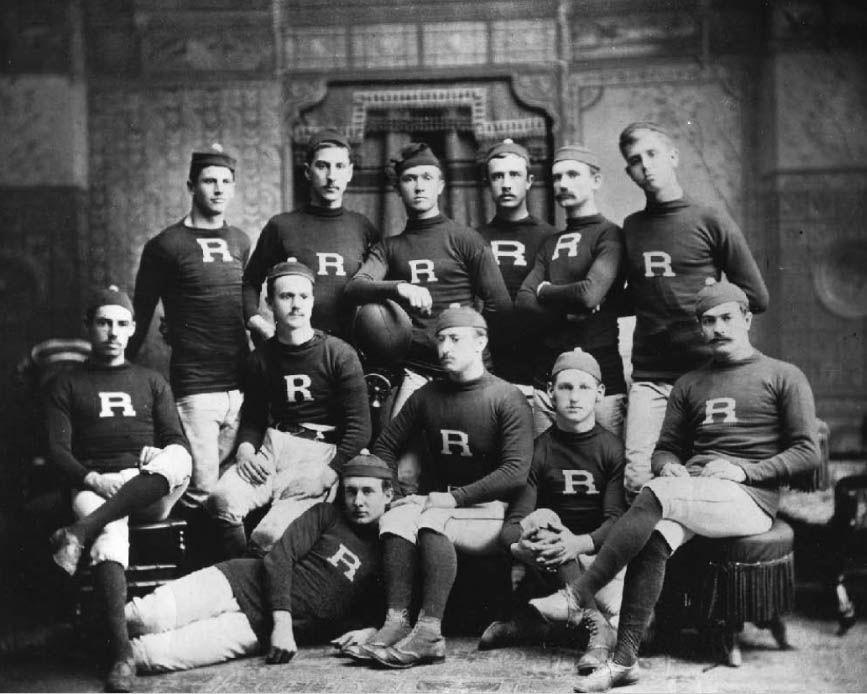 Fútbol Americano Escuadra de Rutgers 1882