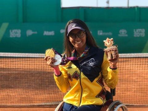 María Angélica Bernal tenis adaptado