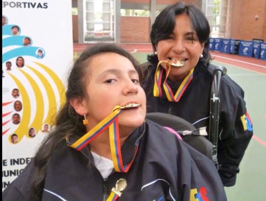 Laura García deportista paralímpica boccia