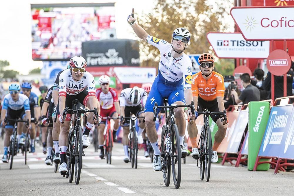 cuarta etapa de La Vuelta a España