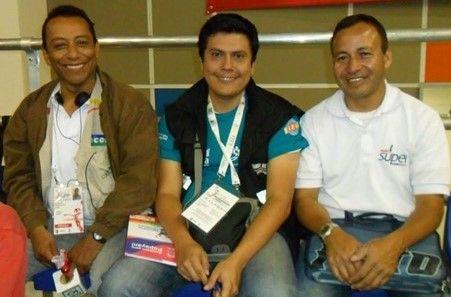 Fabián Camacho periodista deportivo