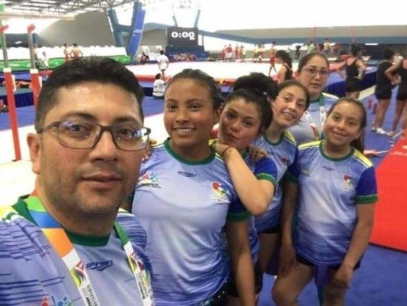 equipo femenino de gimnasia de Nariño
