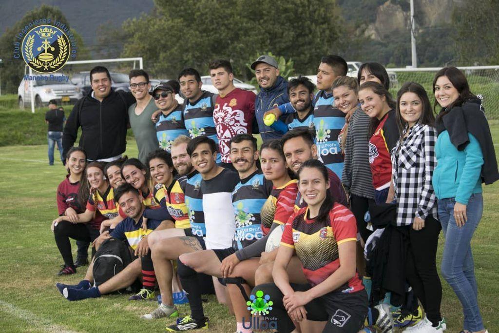 Equipo masculino de manoba rugby