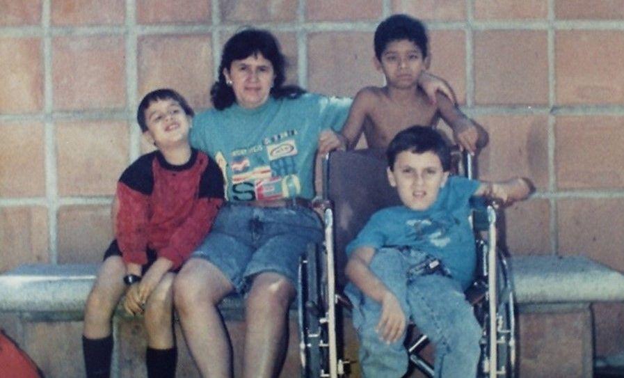Fredy Giraldo Ríos infancia