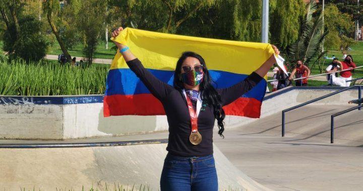 Roller Freestyle Daniela Salgado