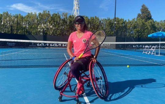 Angélica Bernal Villalobos tenis adaptado