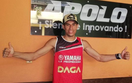 Diego Puentes Puentes atleta