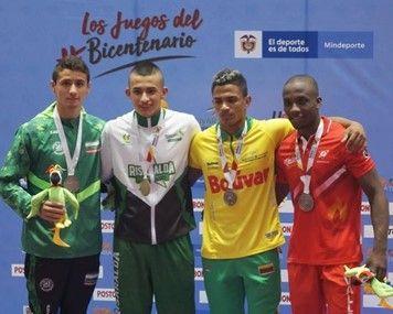 Juan Pablo Hernández medallas