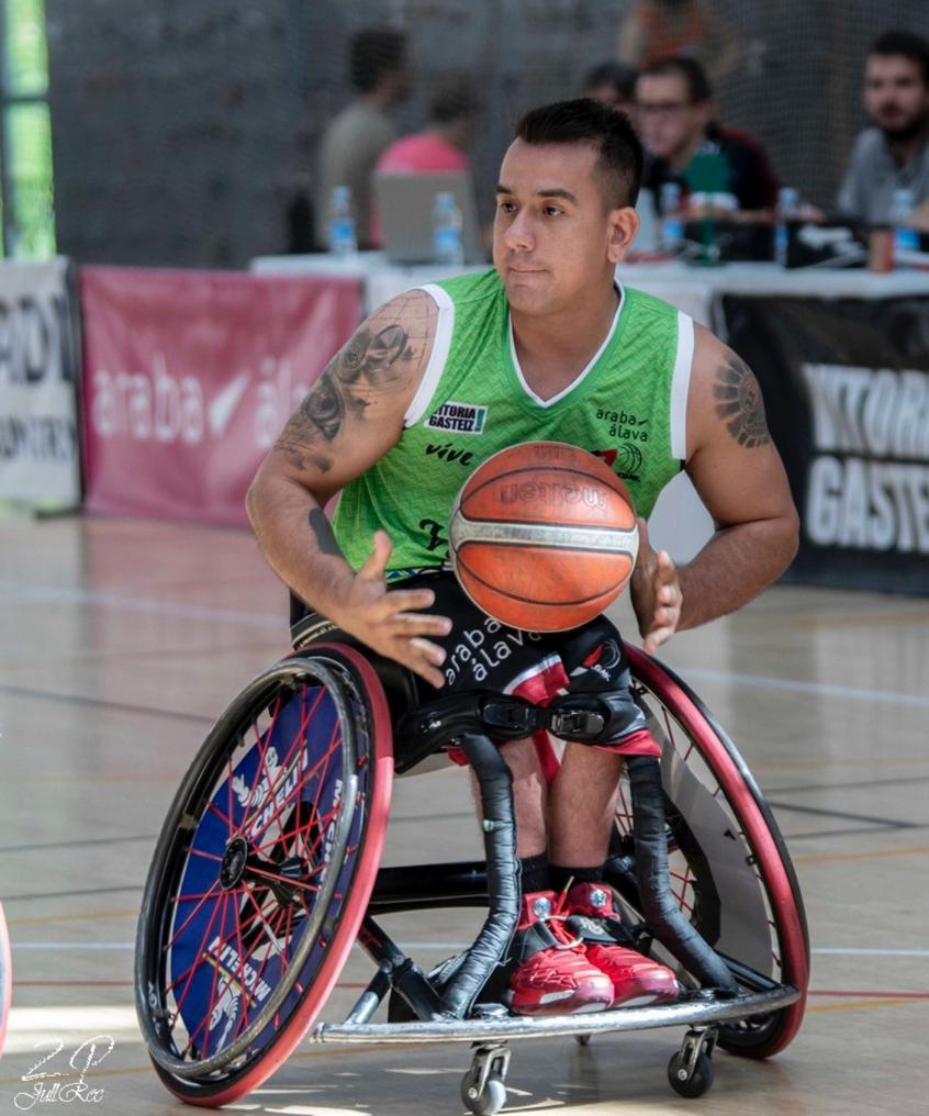 baloncesto adaptado Jhoan Vargas