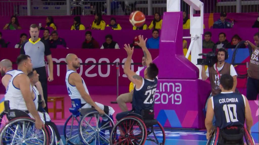 baloncesto en silla de ruedas Jhoan Vargas