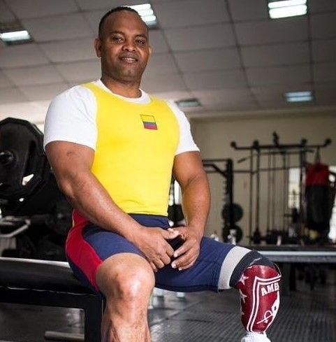Fabio Torres historia Para powerlifting