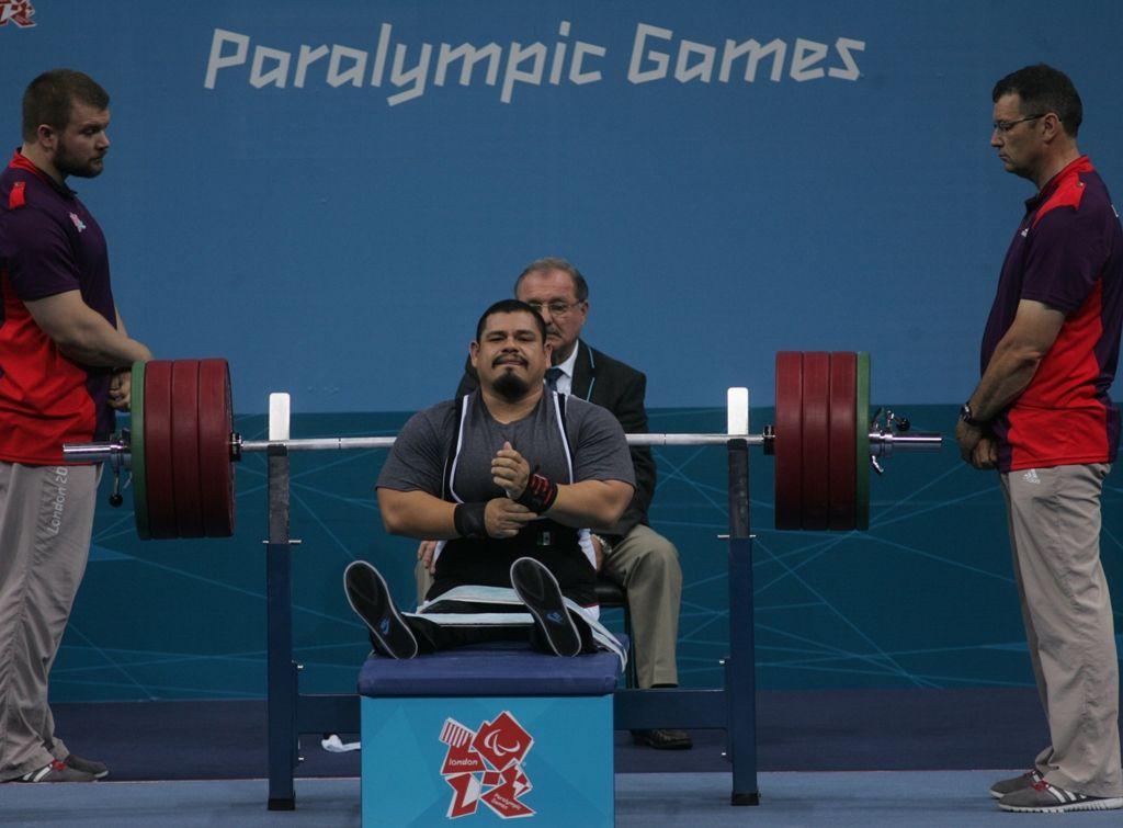 powerlifiting paralímpico
