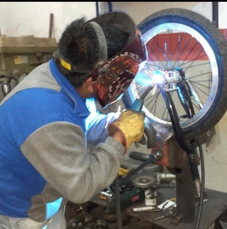 Martín Andrés Vera Triciclo de Derrape