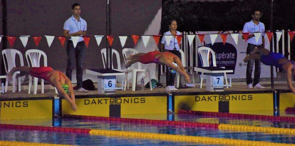 Natación Colombia Duitama Mariana Melo