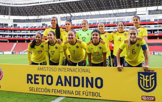 Selección Colombia Reto Andino