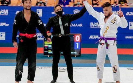 Willy Herrera Campeón Mundial Jiu-Jitsu