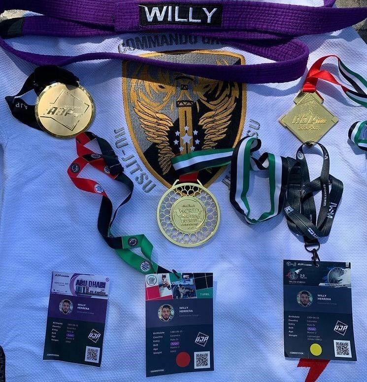 medallas Willy Herrera