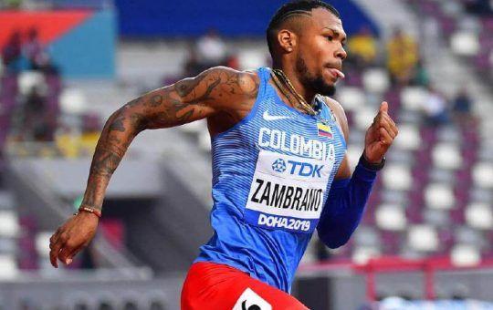 Colombia en la Liga de Diamante 2021