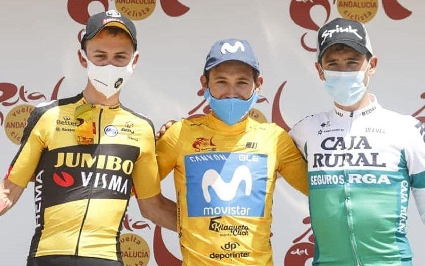 Podium Vuelta a Andalucia 2021