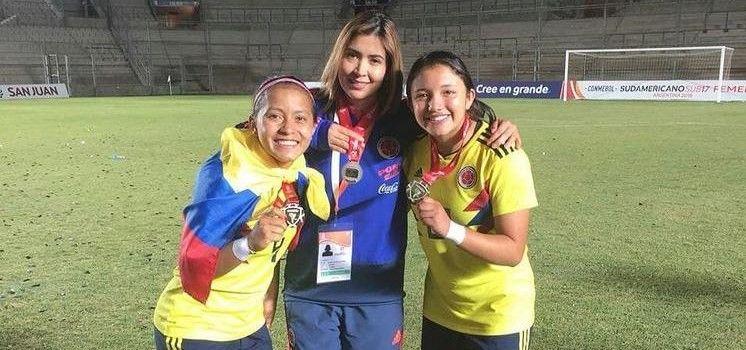 Selección Colombia Paula Vanessa Gómez