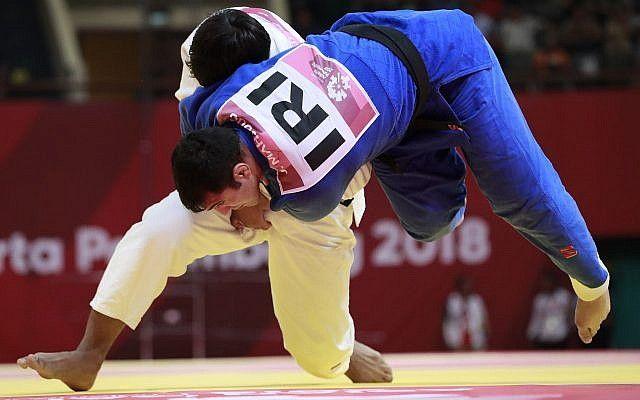 irán judo
