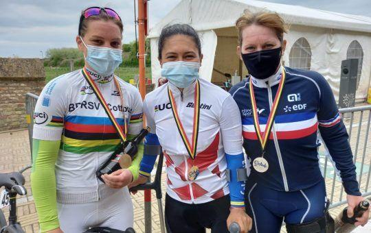 Carolina Munevar Mundial de Paracycling