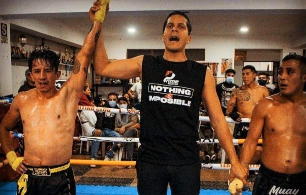 Boxeo Thailandes Alexander Cristancho