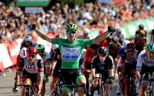 Fabio Jakobsen etapa 16 de La Vuelta España