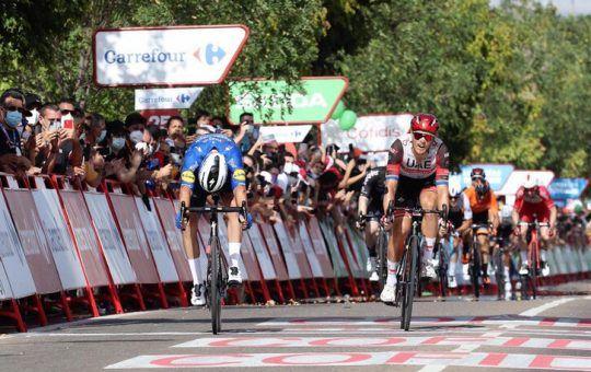 Florian Senechal etapa 13 de La Vuelta España