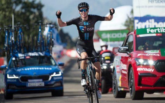 Romain Bardet etapa 14 de la Vuelta a España