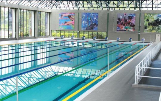 medalla de oro en natación paralímpica
