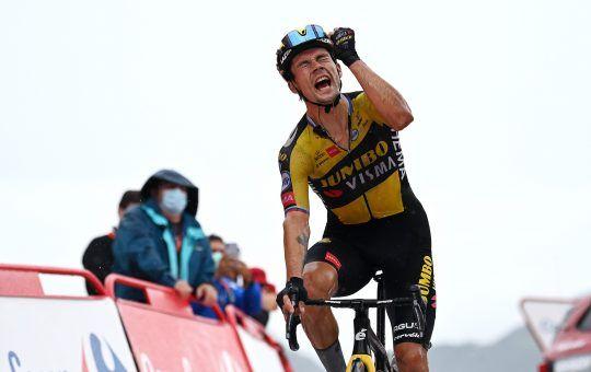 Primoz Roglic etapa 17 Vuelta España