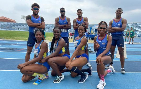 Colombia Sudamericano de Atletismo U23