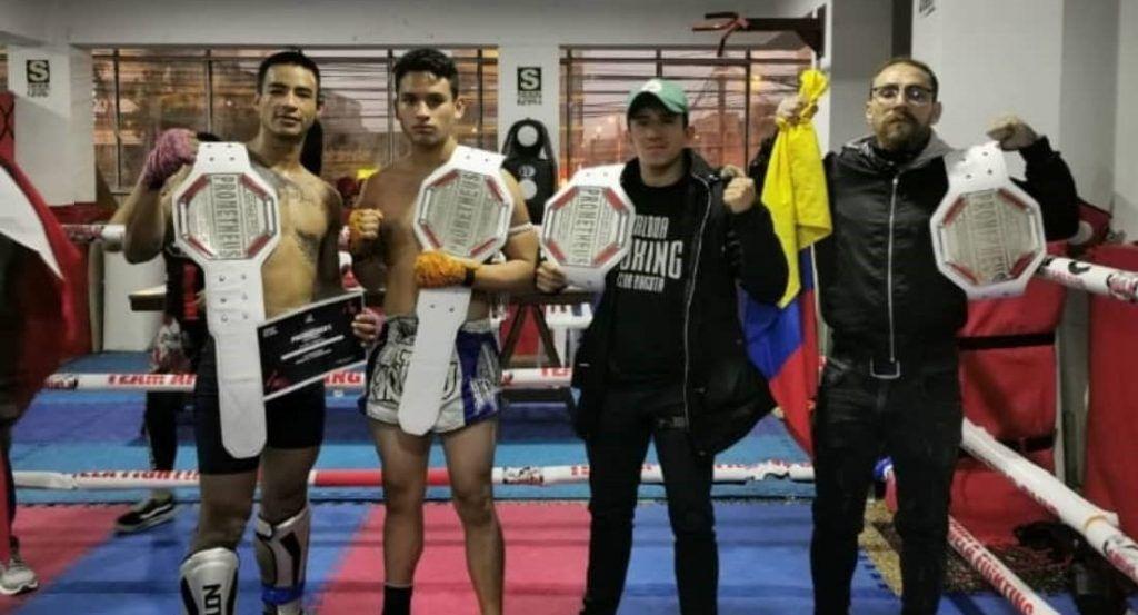 Muay Thai cinturones