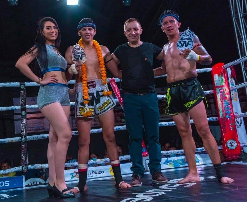 muay Thai final combate